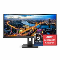 Philips 346B1C 34in 100Hz QHD Curved UltraWide LCD Monitor with USB-C