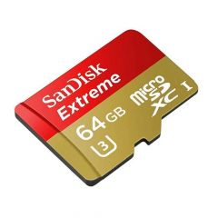 SanDisk 64GB Extreme microSD 100MB/s R 60MB/s W