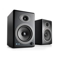 Audioengine A5+ Wireless Bookshelf Speakers - Satin Black