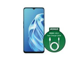 OPPO A91 Blazing Blue Unlocked Mobile Phone [Au Stock]