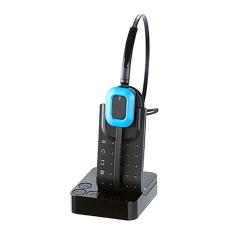 Addcom (ADD-695) Premium Wireless Monaural DECT Headset 3 in 1