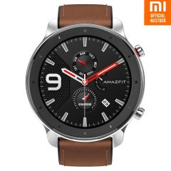 Xiaomi Amazfit GTR 47mm Smartwatch W1902TY2N - Stainless Steel (AU Stock)