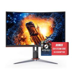 AOC C27G2X G-Line 2nd Gen 27inch 165Hz VA Curved Gaming Monitor