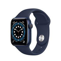 Apple Watch Series 6 40mm Blue Aluminium/Navy Sport Band GPS