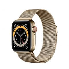 Apple Watch Series 6 40mm Gold Stainless Steel/Gold Milanese Loop GPS + Cellular