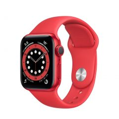 Apple Watch Series 6 40mm Product(Red) Aluminium/Red Sport Band GPS