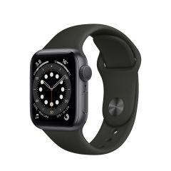 Apple Watch Series 6 40mm Space Gray Aluminium/Black Sport Band GPS