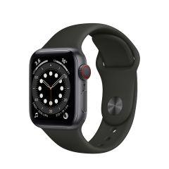 Apple Watch Series 6 40mm Space Gray Aluminium/Black Sport Band GPS + Cellular