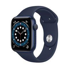 Apple Watch Series 6 44mm Blue Aluminium/Navy Sport Band GPS