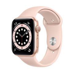 Apple Watch Series 6 44mm Gold Aluminium/Pink Sport Band GPS