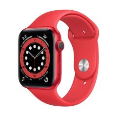 Apple Watch Series 6 44mm Product(Red) Aluminium/Red Sport Band GPS