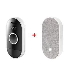 Arlo AAD1001-100AUS Audio Doorbell + Arlo AC1001-100AUS Chime