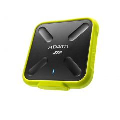 ADATA ASD700-512GU3-CYL SD700 512GB EXTERNAL SSD USB3.1-YELLOW