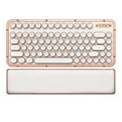 AZIO RETRO CLASSIC COMPACT Vintage Typewriter Bluetooth & USB Mechanical Keyboard - POSH