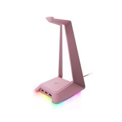 Razer Base Station Headset Stand with USB Hub Chroma - Quartz