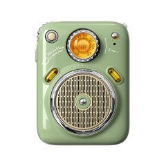 Divoom Beetle FM Portable Radio Bluetooth Speaker - Green