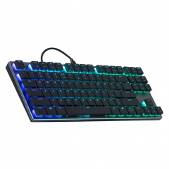 Cooler Master SK-630 TKL RGB Low Profile Mechanical Keyboard - Cherry MX RED