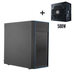 Cooler Master MasterBox E501L ATX Mid Tower Case with 500W PSU