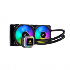 Corsair Hydro Series H100i RGB PLATINUM Liquid CPU Cooler