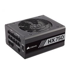 Corsair HX750 750W 80 Plus Platinum High Performance Power Supply