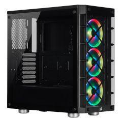 Corsair iCUE 465X ATX Mid Tower Smart Computer Case - Black