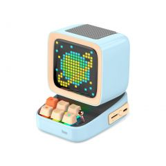 Divoom Ditoo Plus Pixel Art Bluetooth Speaker - Blue