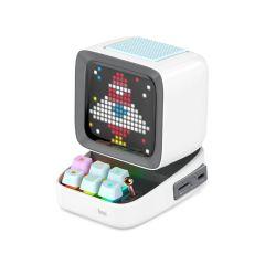 Divoom Ditoo Plus Pixel Art Bluetooth Speaker - White
