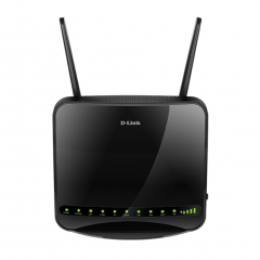 D-Link DWR-956 4G LTE Wi-Fi AC1200 Router with Gigabit Ethernet Ports and 1 FXS Port