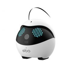 Enabot Ebo Catpal The Smart Robot Cat Toy Companion Standard Luxury Set - White