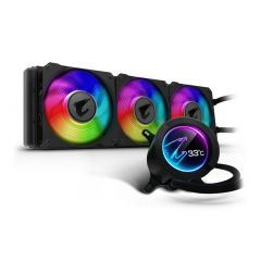Gigabyte AORUS Liquid Cooler 360 with Circular LCD Display