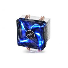 Deepcool Gammaxx 400 CPU Cooler 4 Heatpipes 120mm PWM LED Fan Intel 130W LGA20XX/1366/115X/1200/775