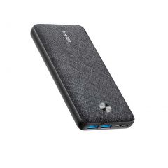 Anker PowerCore Essential 20000 Power Bank - Black Fabric