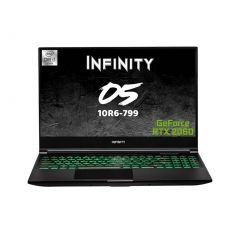 Infinity O5-10R6-799 15.6in FHD IPS 144Hz i7-10750H RTX2060 16GB 1TB Gaming Laptop