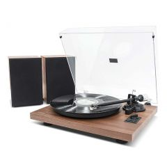 mbeat PT-28 HiFi Bluetooth Record Turntable Player with Speakers