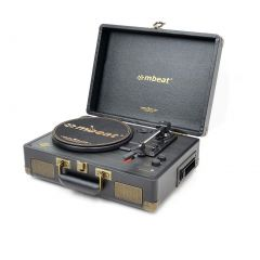 mbeat Uptown Retro Bluetooth Turntable & Cassette Player