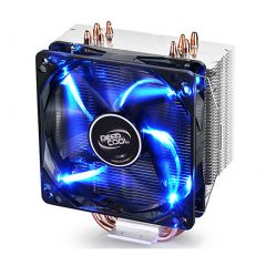 Deepcool GAMMAXX 400 Blue LED CPU Fan with 4 Heatpipes DP-MCH4-GMX400