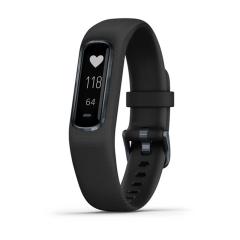 Garmin Vivosmart 4 Activity Smartwatch - Black/Slate (Large)