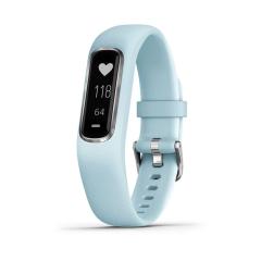 Garmin Vivosmart 4 Activity Smartwatch - Blue/Silver (Small/Medium)