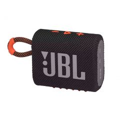 JBL GO 3 Mini Wireless Bluetooth Speaker - Black Orange
