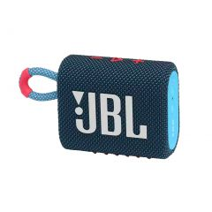 JBL GO 3 Mini Wireless Bluetooth Speaker - Blue Pink