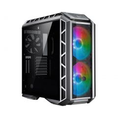 Cooler Master MasterCase H500P A.RGB Mesh Mid Tower ATX Computer Case with Tempered Glass - Black