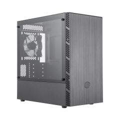 Cooler Master MasterBox MB400L TG mATX Gaming Computer Case with Tempered Glass