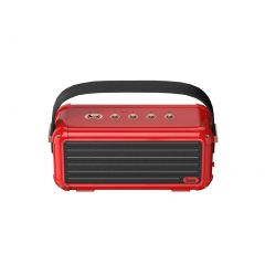 Divoom Mocha Portable Bluetooth Speaker - Red