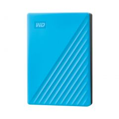 Western Digital My Passport 4TB Hard Drive Blue WDBPKJ0040BBL-WESN