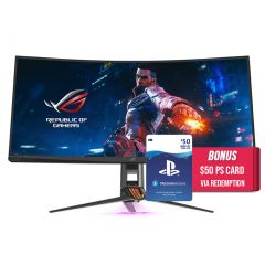 ASUS ROG Swift PG35VQ 35in 200Hz UWQHD 2ms Curved G-Sync Gaming Monitor