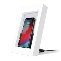 Twelve South PowerPic 10W Qi Wireless Charging Picture Frame - White