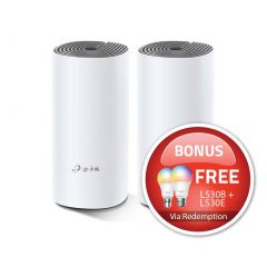 TP-Link Deco E4 (2 pack) AC1200 Deco Whole Home Mesh WiFi System