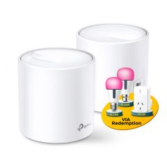 TP-Link Deco X20(2-pack) AX1800 Whole Home Mesh Wi-Fi 6 System
