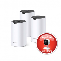 TP-Link Deco S4(3-pack) AC1200 Whole Home Mesh Wi-Fi System
