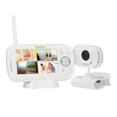 Uniden BW3101R 4.3inch  Digital Wireless Baby Video Monitor with Remote Viewing via Smartphone App